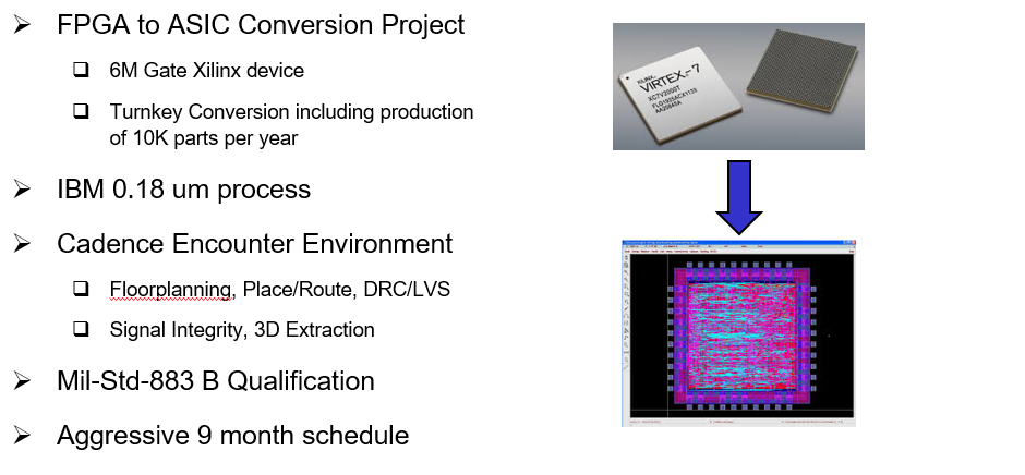 Example FPGA to ASIC Conversion