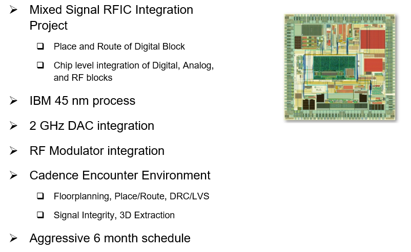 Example Mixed Signal RFIC Integration